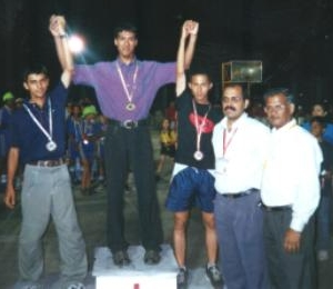 Awards Podium of the 2003 India Speed Nationals