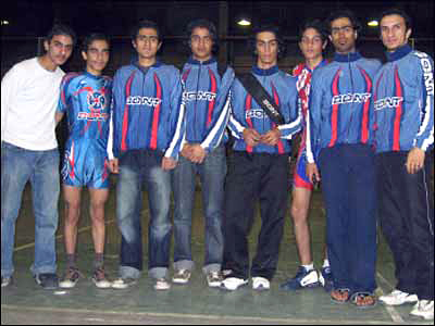 Iranian National Inline Speed Team