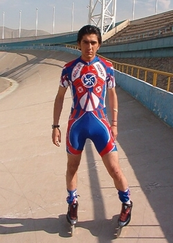 Speed Skater in Tehran