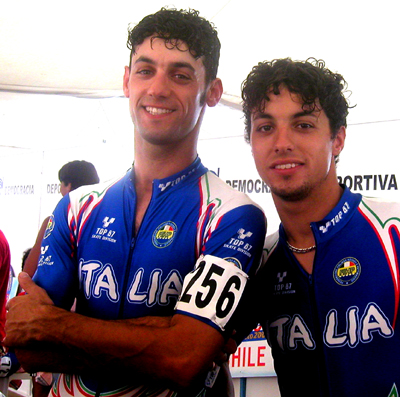 Massimiliano Presti and Luca Presti