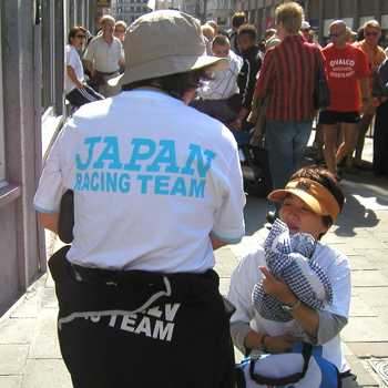 Japanese Racing Team at the 2002 Speed Worlds