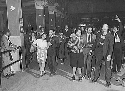 Savoy Ballroom in Chicago Roller Skating