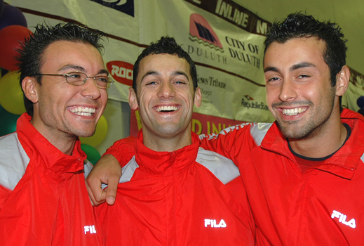 Francesco, Massimiliano, and Luca