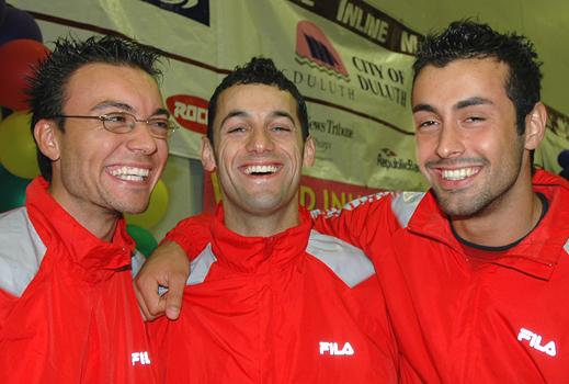 Francesco, Massimiliano, and Luca
