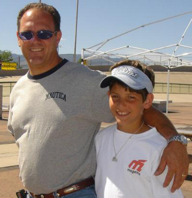 Dallas Hebert and His Dad Tommy