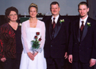 Theresa's Family at Her Wedding
