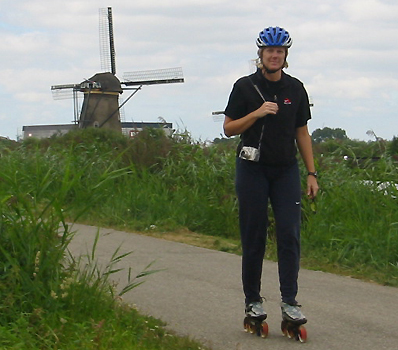 Kim Ames Skating in the Netherlands