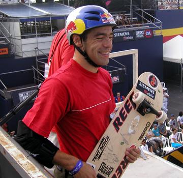Sandro Dias of Brazil