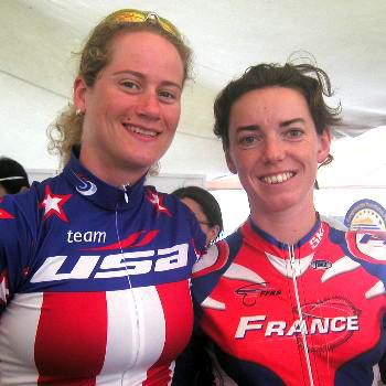 Theresa Cliff and Nathalie Barbotin