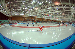 Lingotto Olympic Oval in Torino Italy