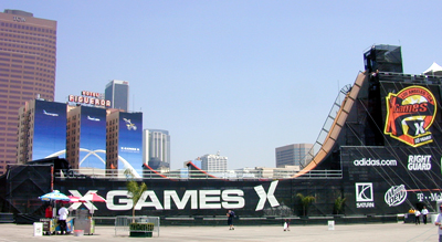 X Games Venue in Downtown Los Angeles