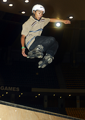Rian Arnold the 2005 Asian X Games