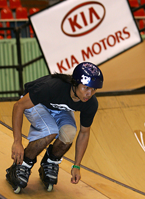 Jeerasak Tassorn at the 2005 Asian X Games