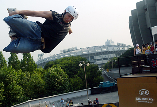Marco de Santi at the 2005 Asian X Games