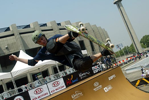 Neal Hendrix at the 2005 Asian X Games