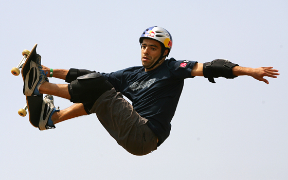 Sandro Dias at the 2005 Asian X Games